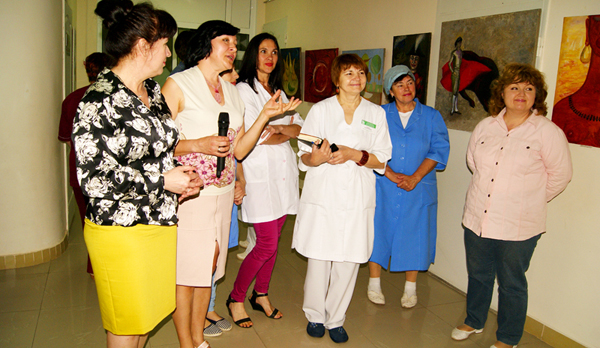 Персональна виставка Ольги Бондаренко