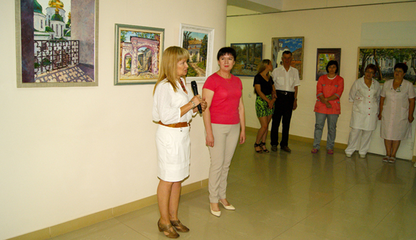 Персональна виставка Оксани Оснач