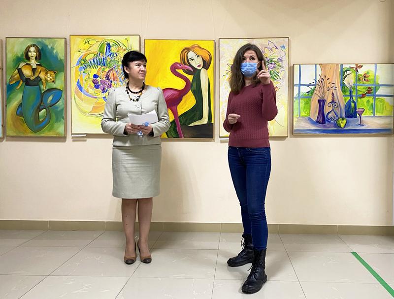 Персональна виставка Анни Грохольської