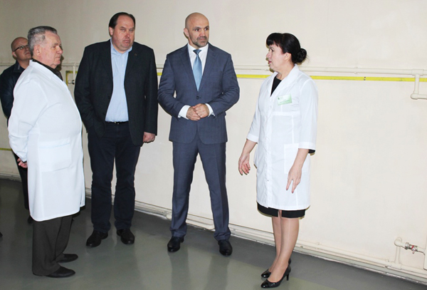 Робочий візит голови обласної ради