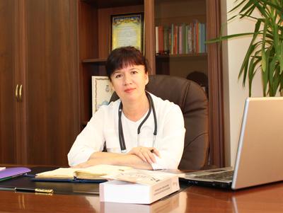Головний лікар Ірина Сокур
